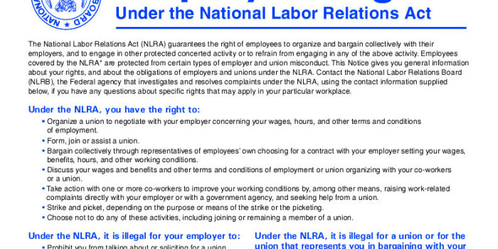 national labor relations act and ch Tional labor relations act (nlra), which regulates collective bargain-  from  the coverage of the national labor relations act the 11 ill rev stat ch.